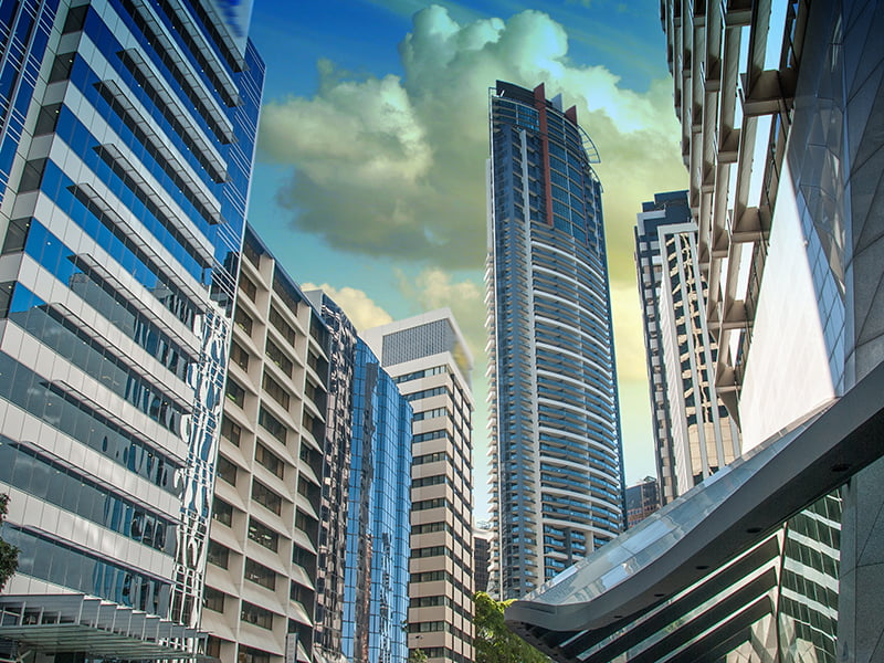 Sydney skyscrapers modern