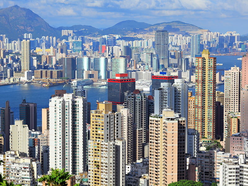 Hong Kong, City, Day, China