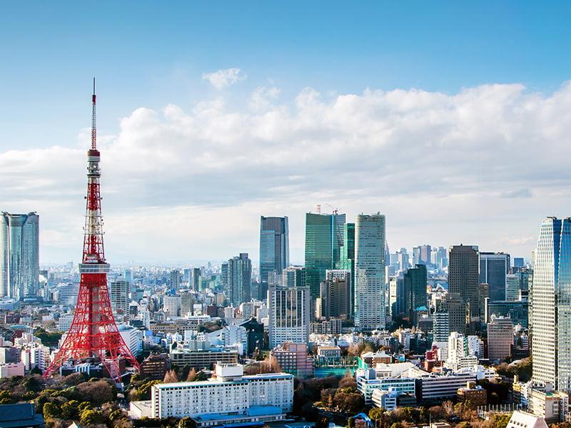 Tokyo, City, Day, Japan