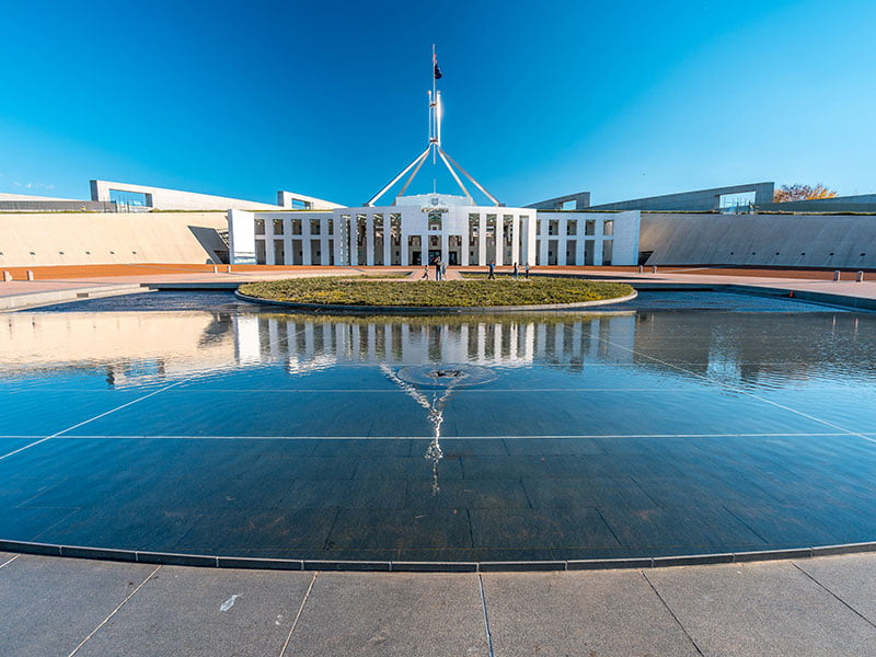 parliament House cyber