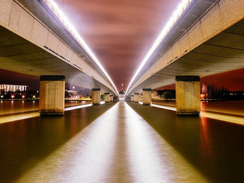 Canberra Cartherics bridge