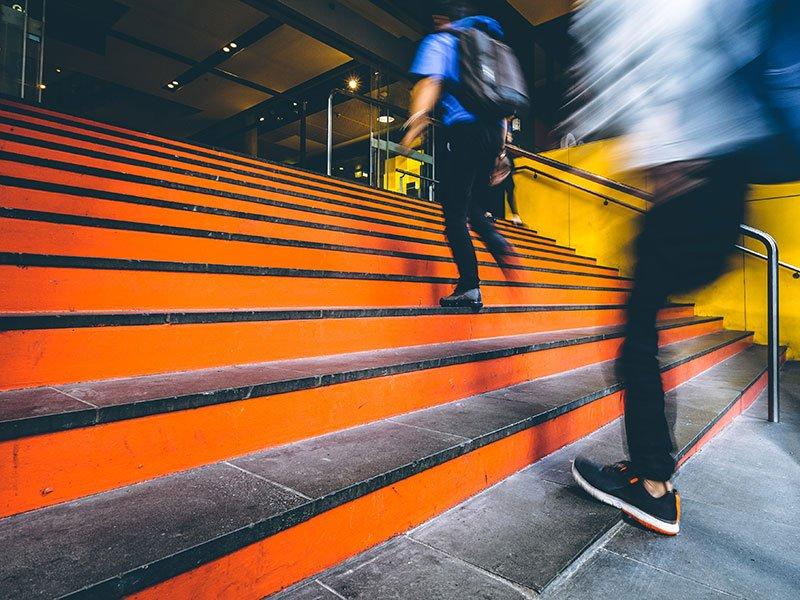 startup stairs