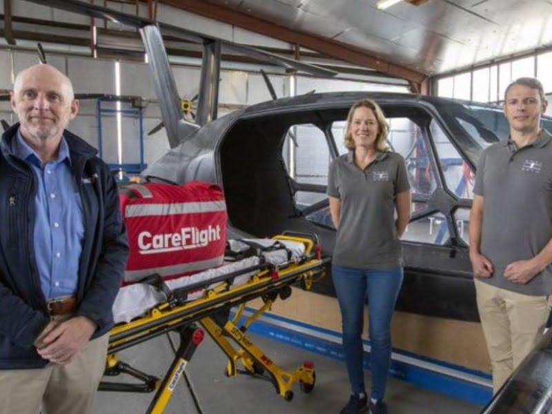 flying car ambulance