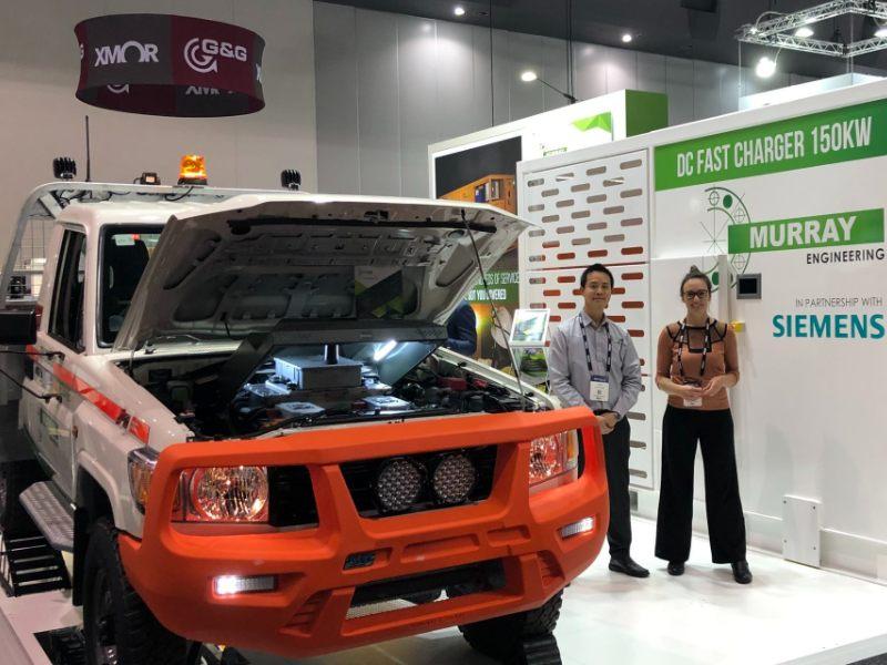 Siemens Murray Engineering electric car